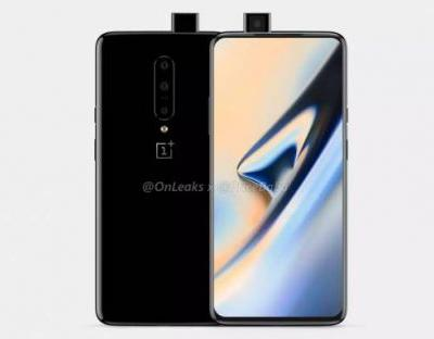 OnePlus 7 renders show popup front camera, triple rear cameras