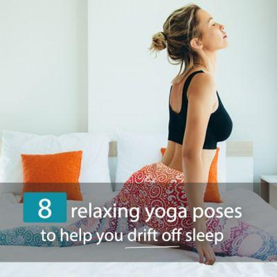 The Top 8 Relaxing Yoga Poses To Help You Sleep