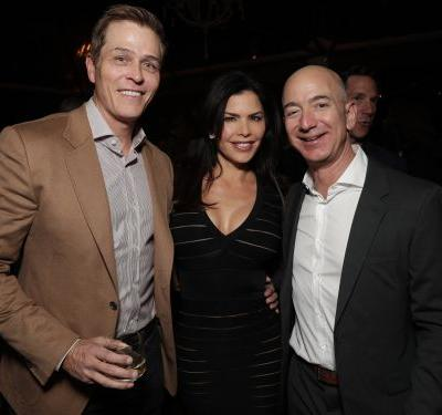 Lauren Sanchez has reportedly filed for a divorce from her husband a day after Jeff and MacKenzie Bezos finalized the terms of their divorce