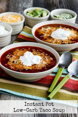 Instant Pot Low-Carb Taco Soup