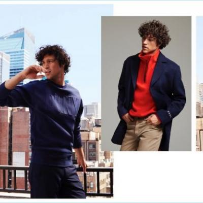 Miles McMillan Goes Sporty in DKNY Fall '18 Collection