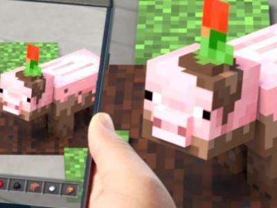 Microsoft teases mobile Minecraft augmented reality game