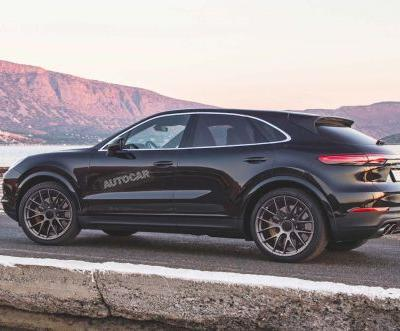 Porsche Cayenne Coupé Spotted Testing In Public