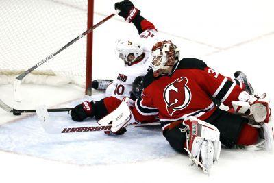 Devils blanked in ugly loss to Senators