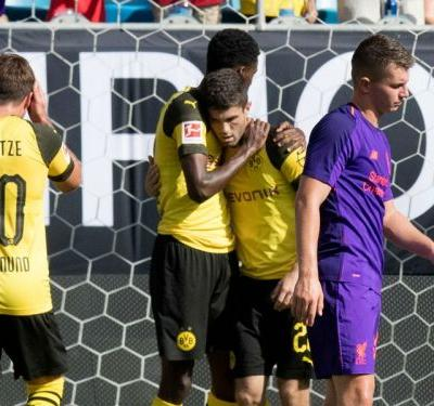 Pulisic earns win for Dortmund against Liverpool