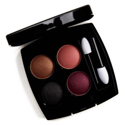 Chanel Mystere et Intensite Eyeshadow Quad Review & Swatches