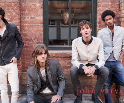 John Varvatos Embraces Downtown Cool for Pre-Fall '18 Campaign