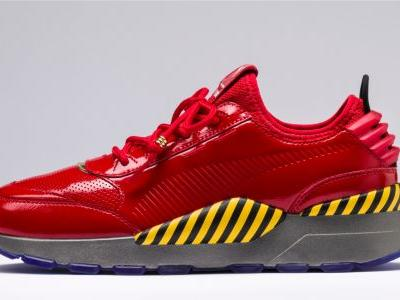 Gotta Go Fast? Check Out These Sonic Puma Sneakers