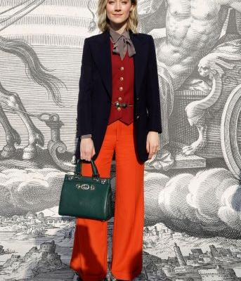8 Celebs Wore This Hot-Ticket Trend in Gucci's Front Row