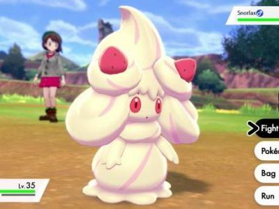 New Pokémon revealed for Sword and Shield, including a giant cake and Geodude's distant cousin