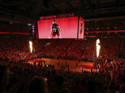 Rockets honored Santa Fe HS victims, first responders at Game 5 vs. Warriors