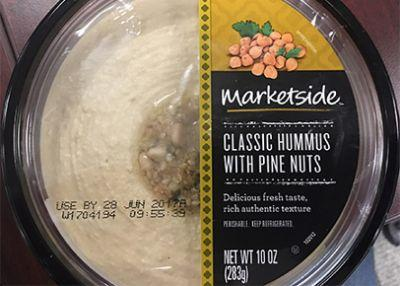 Hummus recalled from Walmart, others for risk of Listeria