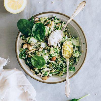 Green Quinoa Salad for Spring Detox