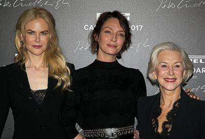 Hollywood's Elite Mature Actresses Bare All for the 2017 Pirelli Calendar
