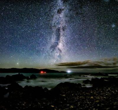 This is a 60-Second Handheld Photo of the Milky Way