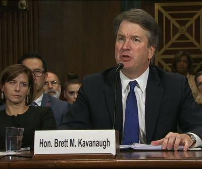Emotional Kavanaugh: 'This confirmation process has become a national disgrace'