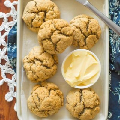Herby Paleo Biscuits