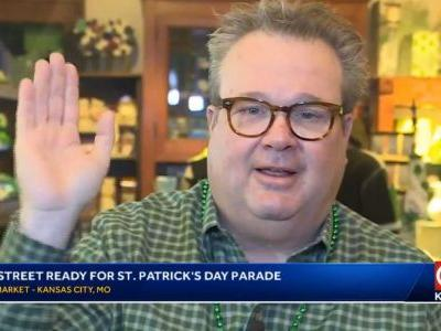 Eric Stonestreet talks St. Patrick's Day Parade and love for KC