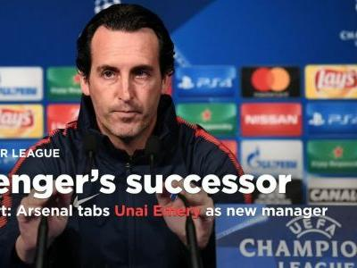 Report: Arsenal has chosen Unai Emery as Arsene Wenger's successor