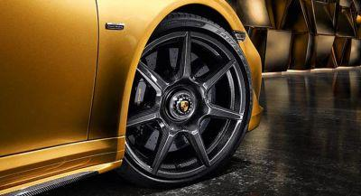 Porsche's 911 Turbo S Exclusive Series Gets Braided Carbon Wheels