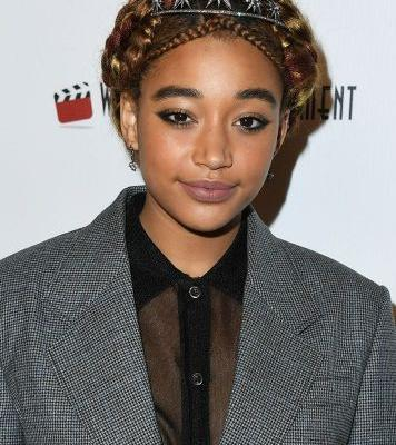 Amandla Stenberg's Intricate Braided Hairstyle is Fit for a Royal, Tiara and All