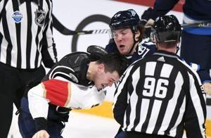 Jets' Lemieux suspended 2 games for illegal check to head