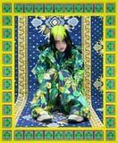 Billie Eilish's Versace Parka Is Like Her Own Damn Version of J Lo's Famous Green Dress