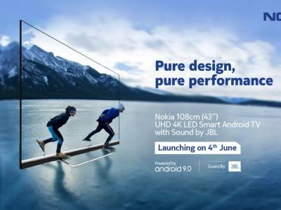 43-inch Nokia Smart TV to launch in India on June 4