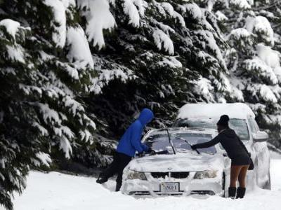 Winter Storm Wallops Parts Of Southeastern U.S
