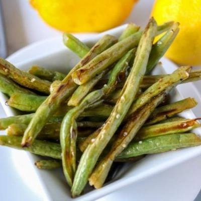 Oven Roasted Garlic Green Beans