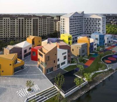 LinGang New City Community Shopping Center / Shanghai ZF Architectural Design