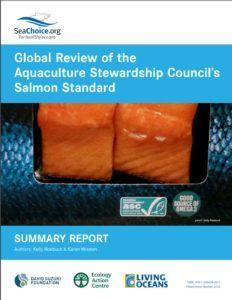 Uh-oh. Salmon farms are not meeting eco-certification standards