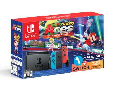 Start Your Holiday Shopping Early with this Walmart-Exclusive Mario Tennis Aces/1-2 Switch Switch Bundle