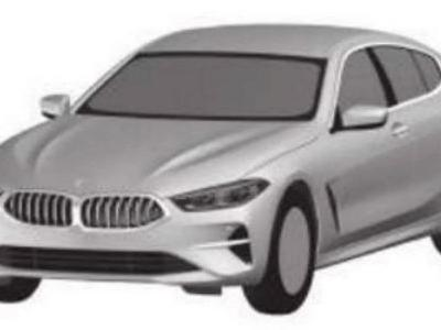 BMW 8 Series Gran Coupe Design Revealed Thanks To Patent Drawings
