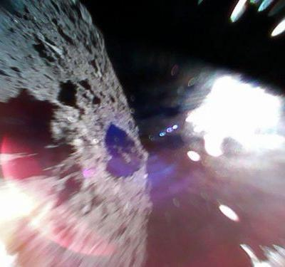 The First Photo from the Asteroid Japan Just Landed Rovers On
