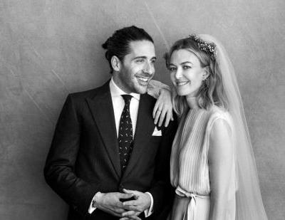 Zara heiress Marta Ortega wore Valentino at her wedding