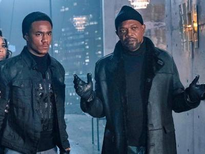 Samuel L. Jackson & Jessie T. Usher Suit Up In New Shaft Movie Image