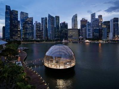 Apple and Tim Cook Celebrate 40 Years of Company's Presence in Singapore