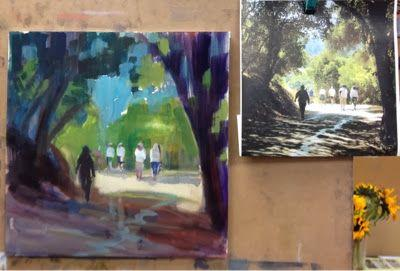 Under Painting to Pastel