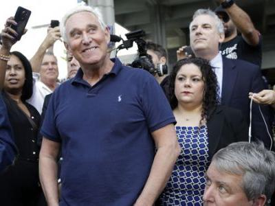 Roger Stone Expected To Plead Not Guilty In D.C. Federal Court Tuesday
