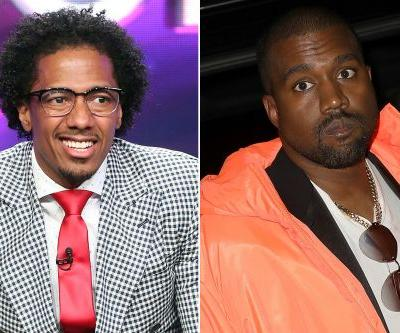 Nick Cannon tells Kanye he can't tell him what to say