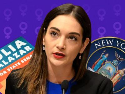The youngest woman ever elected to New York State government still feels uncomfortable getting 'special treatment' for being a senator. The 28-year-old says double standards for women have everything to do with it
