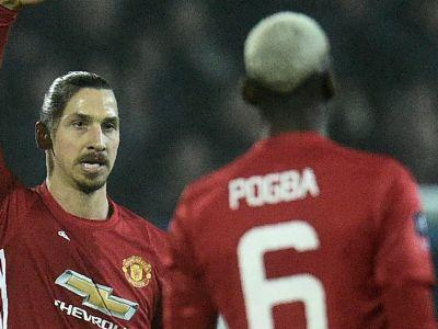 'Bought me? I came for free!' - Ibrahimovic jokes with Pogba after EFL Cup win
