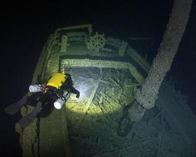 Exclusive photos: A first detailed look at the wreck of Canadian schooner Queen of the Lakes