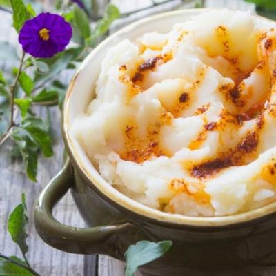 Chipotle Garlic Mashed Potatoes