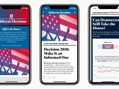 Apple News will feature a dedicated section for 2018 US Midterm Elections 'fact-based' news