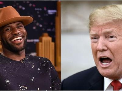 Athletes and politicians erupt at Trump over Twitter after he takes aim at Lebron James