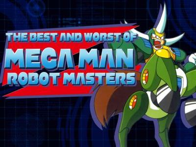 Mega Man's Five Best and Worst Robot Masters