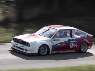 This Alfa Sprint's Boxer Engine Revs To 9500RPM And It Sounds Immense