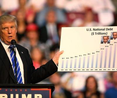 Trump promised to get rid of red ink in 8 years. But the deficit just topped $1 trillion for the first time since 2012